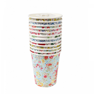 Liberty assorted party cups logo