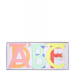 Multi colour letter garland logo
