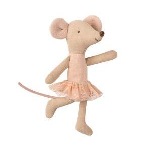 Ballerina mouse little sister logo