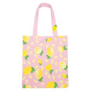 Tote bag lemon logo