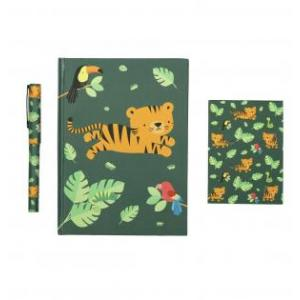 Stationery set jungle tijger logo