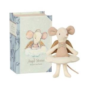 Angel mouse big sister in book logo