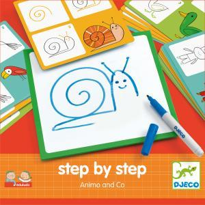 Step by step Animals and Co   logo