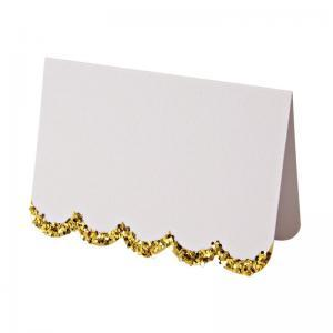 White&gold placecards logo