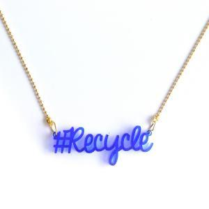 Ketting recycle recycled logo