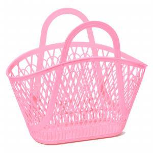 Betty basket bubblegum pink logo