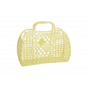 Retro basket large yellow logo