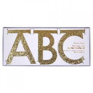 Gold letter garland kit logo