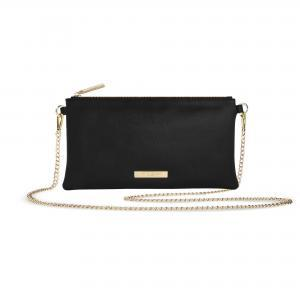 Freya crossbody bag black logo