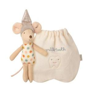 Tooth fairy mouse little logo