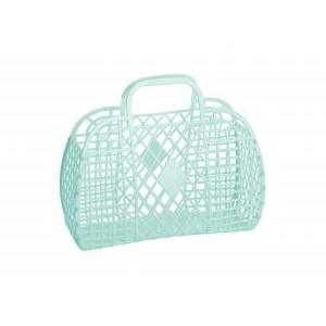 Retro basket large mint logo